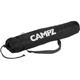 CAMPZ Taburete Plegable 4 Patas, black